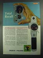 1968 Fujica Single-8 P-300 Movie Camera Ad - Recall