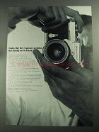 1968 Nikon FTN Camera Ad - Exposure Problem Licked