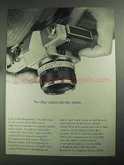 1968 Mamiya/Sekor 500DTL Camera Ad - Has This Switch