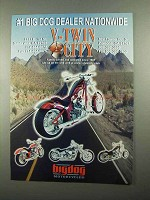 2004 Big Dog Motorcycles Ad - V-Twin City