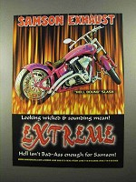 2004 Samson Exhaust Hell Bound Slash Ad - Wicked
