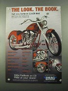 2004 Drag Specialties Ad - The Look. The Book.