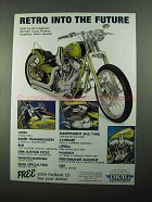 2004 Drag Specialties Ad - Retro Into the Future