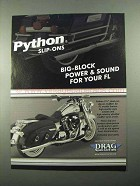 2004 Drag Specialties Python Slip-Ons Exhaust Ad