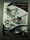 2004 Orange County Choppers Ad - Rigid, Softail Frames
