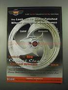 2004 Carriage Works Crystal Clear Coated Wheels Ad