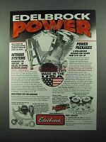 2004 Edelbrock Nitrous Systems and Power Packages Ad