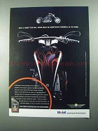 2004 Mobil 1 V-Twin 20W-50 Oil Ad - A Heart This Big