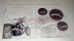 2004 Arlen Ness Custom Drag Pipes Ad - Stacker C-Cut +