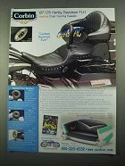 2003 Corbin Heated Dual Touring Saddle Advertisement