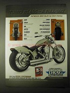 2002 Drag Specialties Motorcycle Parts Ad - Turns Heads