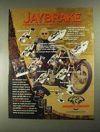 2001 Biker's Choice Jaybrake Controls and Brakes Ad