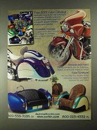 2001 Corbin Motorcycle Parts Ad - Smuggler Trunk +