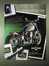 2000 Custom Chrome B.Y.O.B. Motorcycle Kit Ad