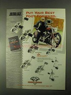 2000 Biker's Choice Jaybrake Forward Contronls Ad