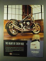 2000 Yuasa Battery Ad - The Heart of Every Ride