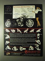 2000 Performance Machine Motorcycle Brakes Ad - 101