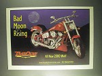 2000 Big Dog Wolf Motorcycle Ad - Bad Moon Rising