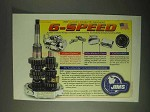 2000 JIMS 6-Speed Motorcycle Transmission Ad