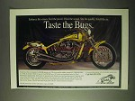 2000 Boar X-Treme RMX Motorcycle Ad - Taste the Bugs