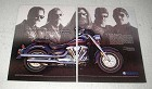 2000 Yamaha Road Star Motorcycle Ad - Size of His Bike