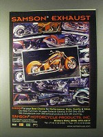 1999 Samson Exhaust Systems Ad