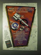 1999 Biker's Choice Twin Power Ignition System Ad - Impeccable Timing