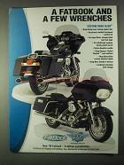 1999 Drag Specialties Motorcycle Parts Ad - A Fatbook