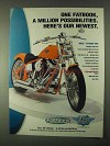 1999 Drag Specialties Motorcycle Parts Ad - Our Newest
