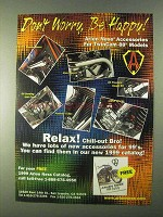 1999 Arlen Ness Motorcycle Parts Ad - Be Happy