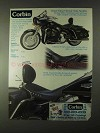 1999 Corbin Road King Classic Solo Saddle Ad