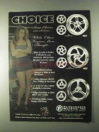 1999 Performance Machine Wheels, Disc & Pulleys Ad