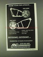 1999 RC Components Frames Ad - Your Own Opinion