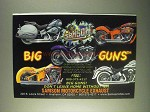 1999 Samson Exhaust Ad - Big Guns
