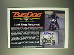 1999 Big Dog Motorcycles Ad - Lost Dog Returns