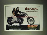 1999 Big Dog Pitbull Motorcycle Ad - The Crow