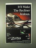 1999 Le Pera Maverick Seat Ad - Make Recliner Jealous
