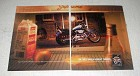 1999 H-D XL 100C Sportster 1200 Custom Motorcycle Ad
