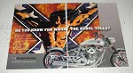 1999 Confederate Motorcycles Ad - Whom Rebel Tolls