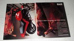 1999 Buell Cyclone M2 Motorcycle Ad - Torque so Meaty