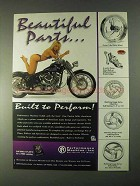 1998 Performance Machine Motorcycle Parts Advertisement
