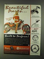 1998 Performance Machine Motorcycle Parts Ad - Beautiful Parts