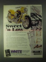 1998 White Brothers Motorcycle Parts Ad - Sweet 'n Low