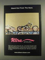 1998 Ultra Cycles Ad - Stand Out From The Herd