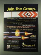 1998 Browning BOSS system Ad - Join the Group