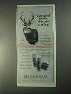 1998 Leupold Mounts Ad - One Deserves Another