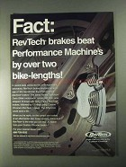 1998 RevTech Brakes Ad - Beat Performance Machine's