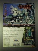1998 CMC RoadWarrior Motorcycle Ad - Full Throttle