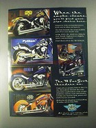 1998 Drag Specialties Pipes Ad - Vance Hines