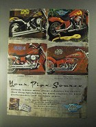 1998 Drag Specialties Pipes Ad - Vance Hines, Python